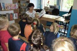 Czytanie dzieciom z SP nr 1 - Jest Takie miejsce - czyt. W. Szlachta
