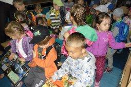 Przedszkolaki w bibliotece - lekcja biblioteczna
