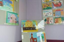 Wystawa pokonkursowa prac dzieci z przedszkola i szkół podstawowych w Marklowicach_3