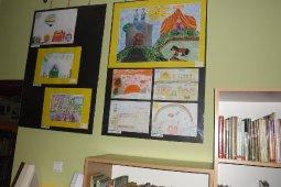 Wystawa pokonkursowa prac dzieci z przedszkola i szkół podstawowych w Marklowicach_5